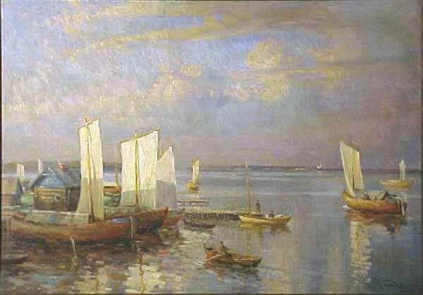 gorbatov. -Evening at Little Harbor