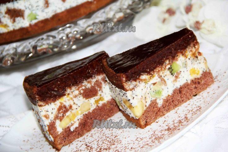 "Торт ""Африканская ромашка"" - рецепт с фото"