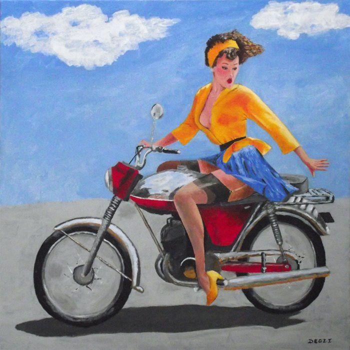 motorcycles - Skirting the Issue by Andrew Degenhardt