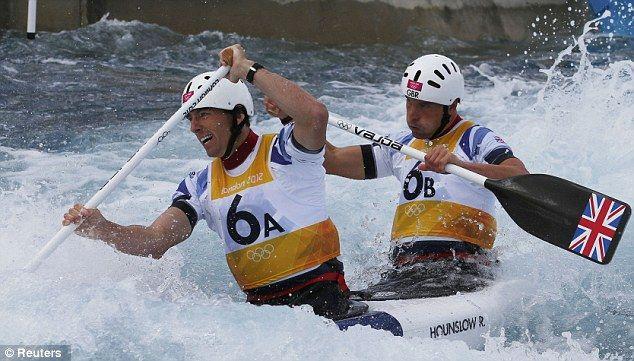 David Florence and Richard Hounslow - Silver, Two Man Canoe Slalom