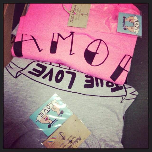 camisetas unisex, disponibles en www.corazonadas-shop.com