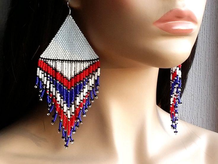 NUOVI orecchini Extra-Large. Nativi americani in orecchini