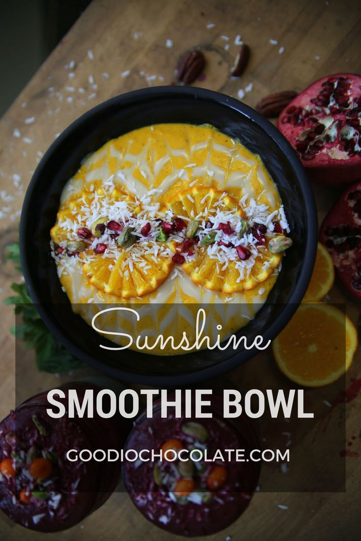 Brighten your day with this sunshine smoothie!
