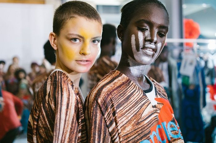 Best of Beauty From SS 2018 PWF face paint