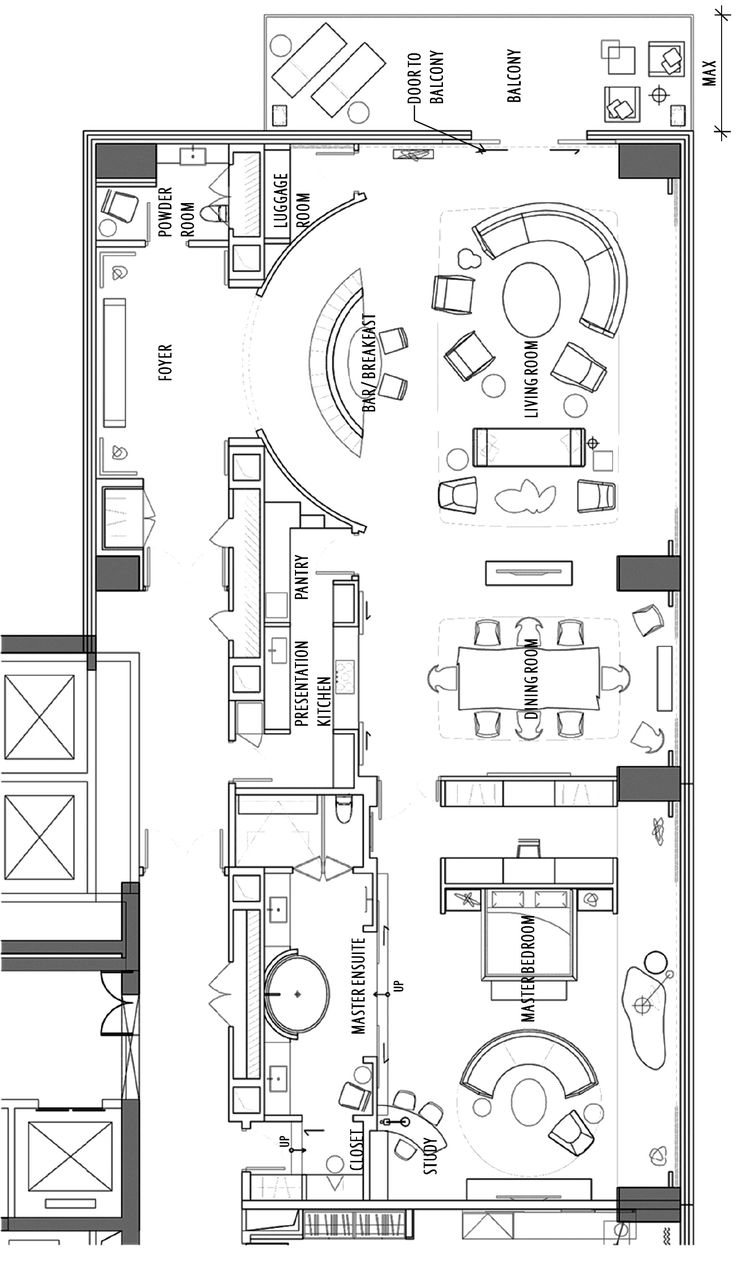 Hotel Room Plan: W Hotel Chengdu E WOW Suite (With Images)