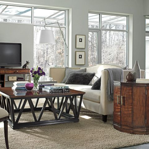 Stanley Avalon Heights Empire Coffee Table Set