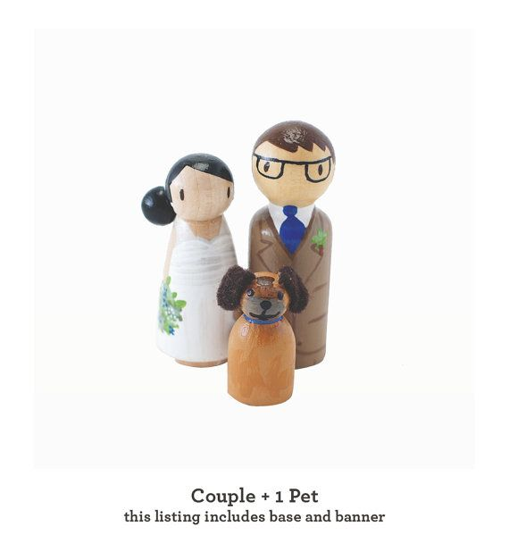 1 Pet and Couple  Custom Rustic Handcrafted by LovebirdsGoods, $65.00