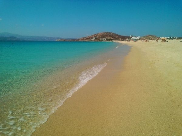 Dreamy beach of Agios Prokopios, Naxos