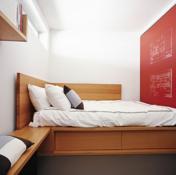 Best 25 corner beds ideas on pinterest spare bedroom - Bedroom furniture for small spaces ...