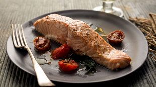 Broiled Salmon Glazed with Brown Sugar and Mustard Recipe - NYT Cooking