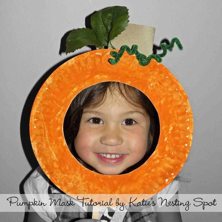 Muffin Tin Mom: Pumpkin Paper Plate Craft For Kids