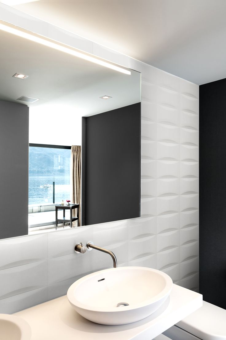 Spectacular Ambient Ceramic Relief x in colours white