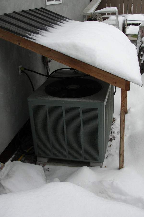 Heat Pump Shelter