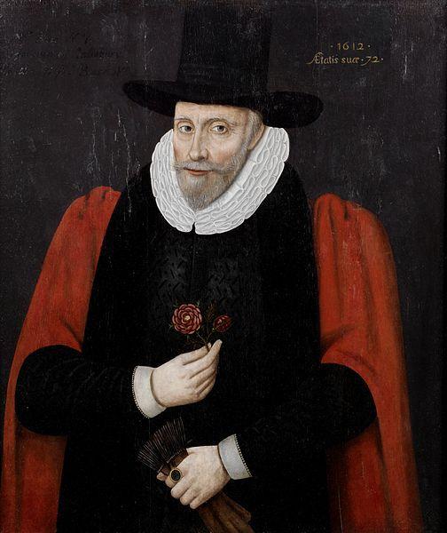 English: Portrait of a gentleman, said to be Alderman Rose senior of Salisbury. Date 1612
