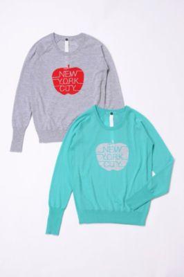 <VENERTA Knitwear>ニューヨークアップル(5020C500IS**):三越・伊勢丹オンラインストア