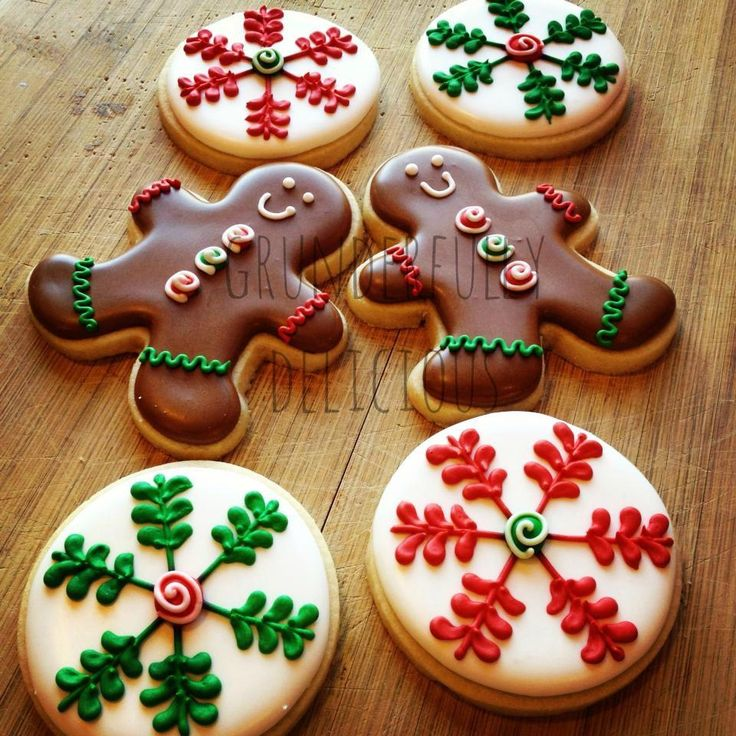 Snowflakes & Gingerbread Men | Cookie Connection