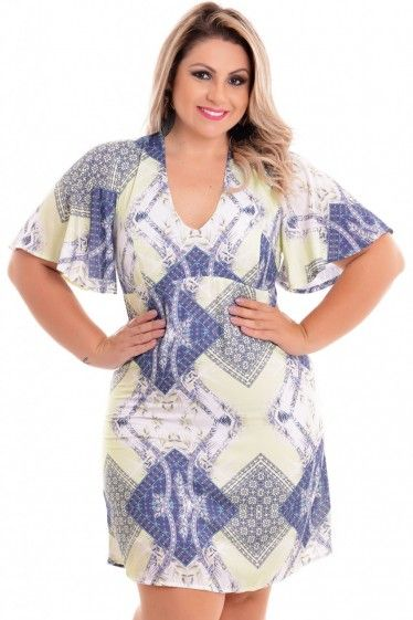 Vestido Plus Size Vibe Summer
