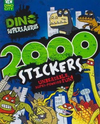 Dino Supersaurus 2000 Stickers  by Parragon Books