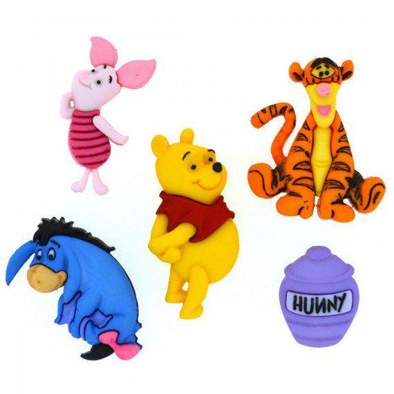 New Winnie The Pooh BEAR EEYORE /& Piglet LANYARD Pooh With Honey Pot Charm