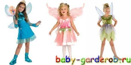 Выкройки детских новогдних костюмов