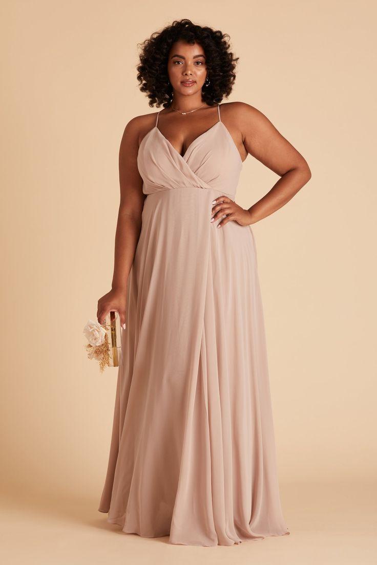 Kaia Dress Curve   Taupe in 18   Bridesmaid dresses plus size ...