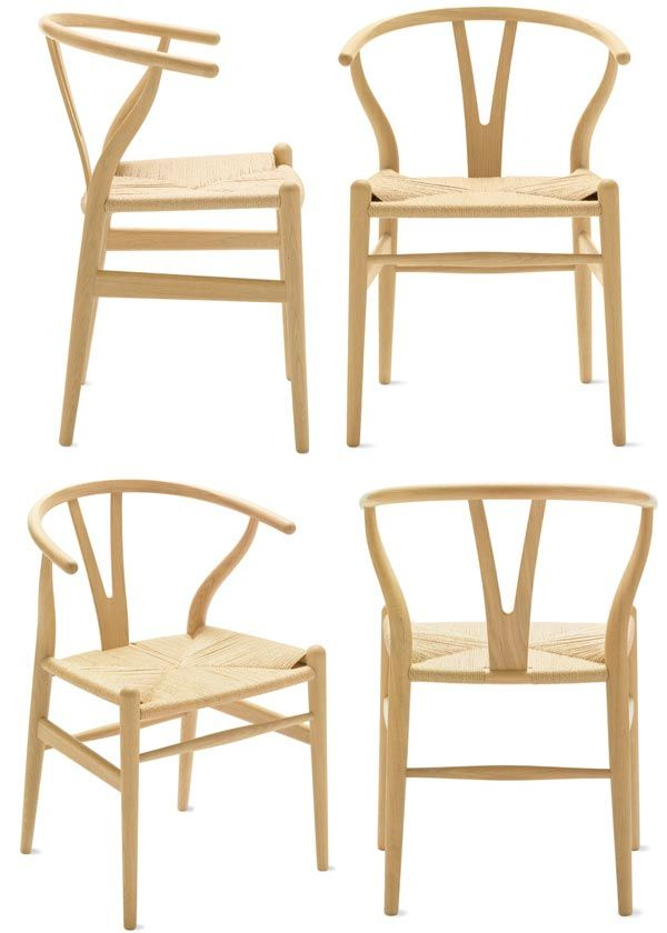 hans wegner the wishbone chairalso ch24 the ychair by carl hansen