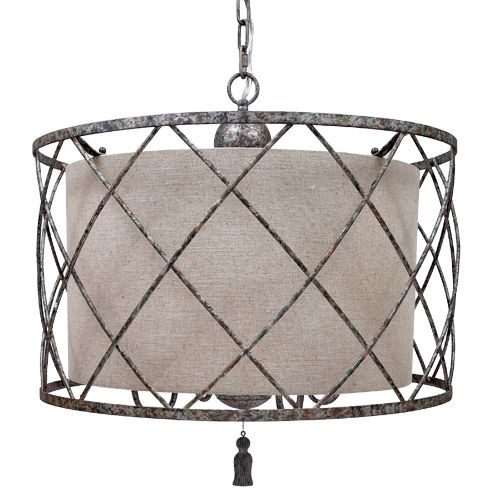 128 best chandeliers pendants ceiling lighting images on open weave chandelier and large linen shade old world design open weave chandelier and large linen shade with aged silver finish old world designcategory aloadofball Images