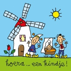 Simply Dutch - birth card Babette Harms