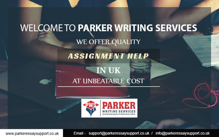 Parker Writing Services – The Leading Assignment Writing Service Provider Serving Across UK Over Years. #Assignment #Writing #AssignmentWriting #AssignmentWriter #UK