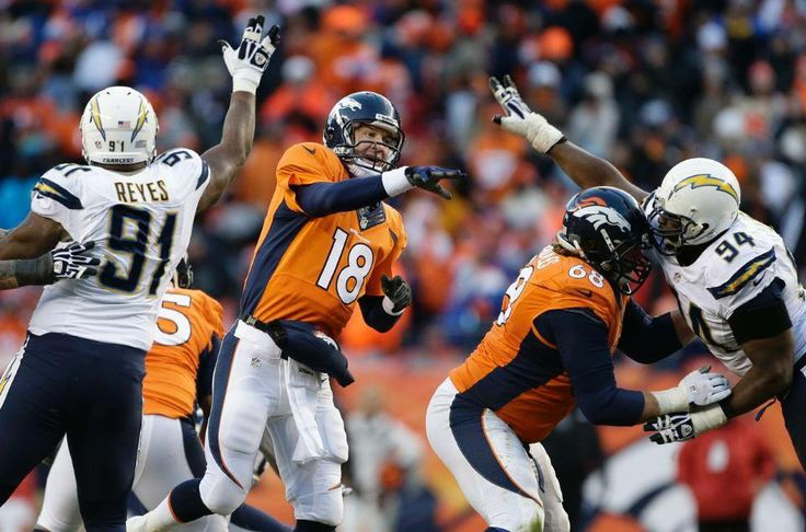 The Broncos WIN!!! Denver has defeated the San Diego Chargers by a final score of 24-17 in the 1-12-14 playoff game! Broncos face the Patriots in the AFC Championship game 1-19-2014!!!