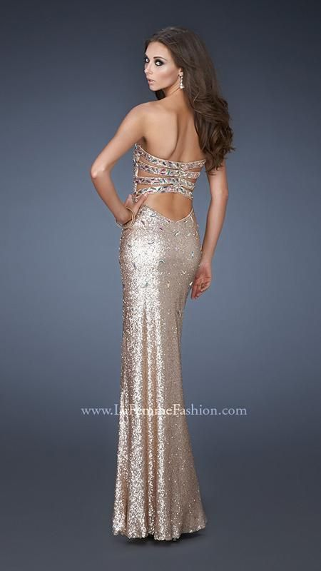 La Femme 18513 | La Femme Fashion 2013 - La Femme Prom Dresses - Dancing with the Stars