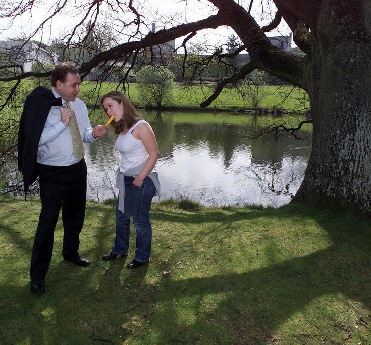 My Desperate Search To Find The Woman Who Alex Salmond Fed A Solero To In...