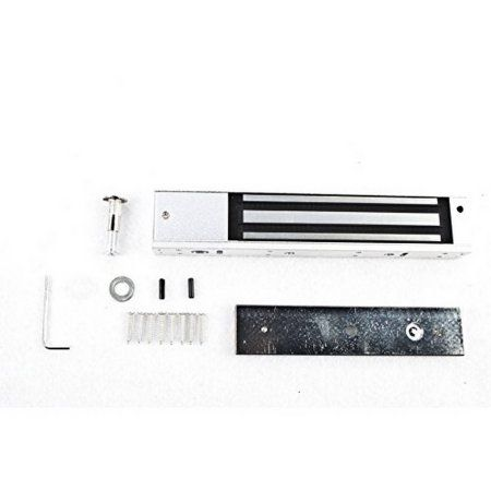 Aleko LM176 Automatic Electromagnetic Lock 12V Gate Lock 600 lb Safety Lock