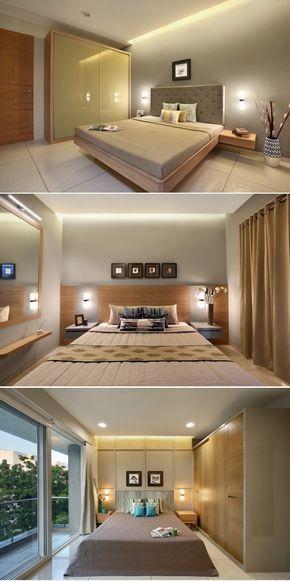 3 room flat interior design with Elegance | A+T Associates