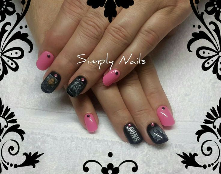 45 best SOA in Pink images on Pinterest | Anarchy, Nail ...