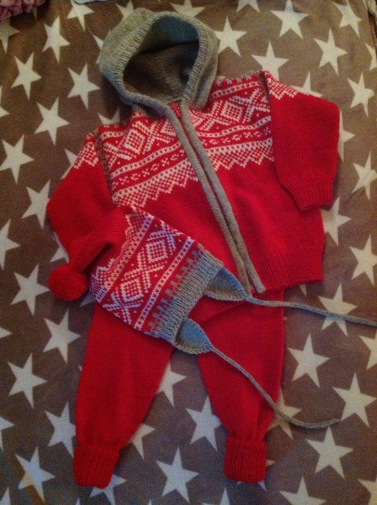 Marius jakke, bukse og lue ❤️