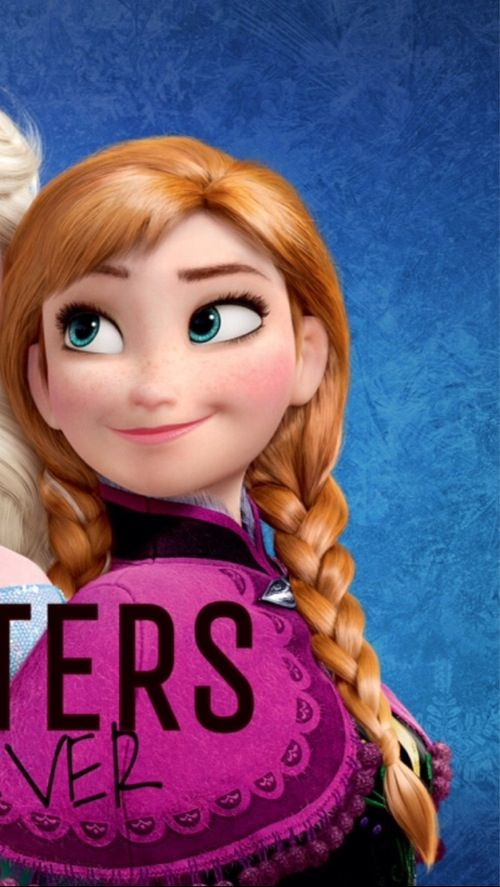 Sisters Forever. Anna. Frozen Iphone wallpaper part 2 of 2