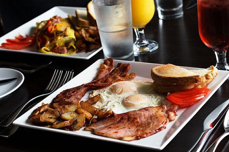 Baci Ristorante | Italian Restaurant | Hamilton, Ontario | Breakfast | Bacon & Eggs