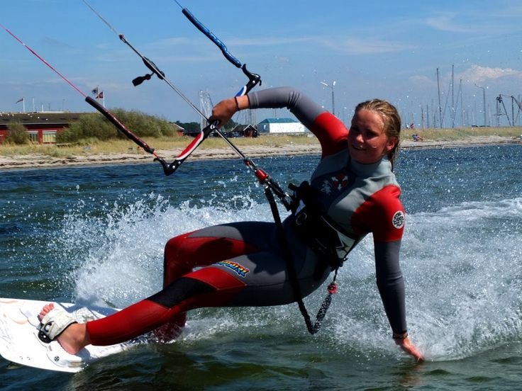 kitesurferne i Lynæs Backyard