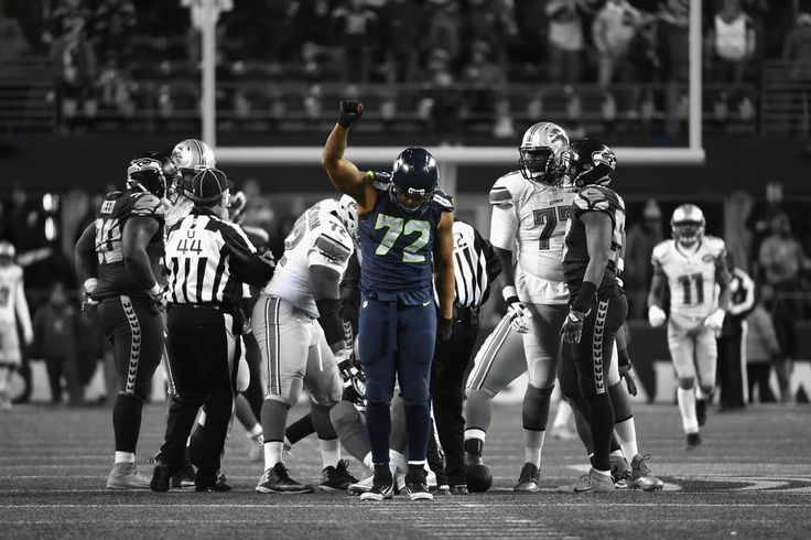 Lion Slayed - Michael Bennett, Wallpaper : Seahawks