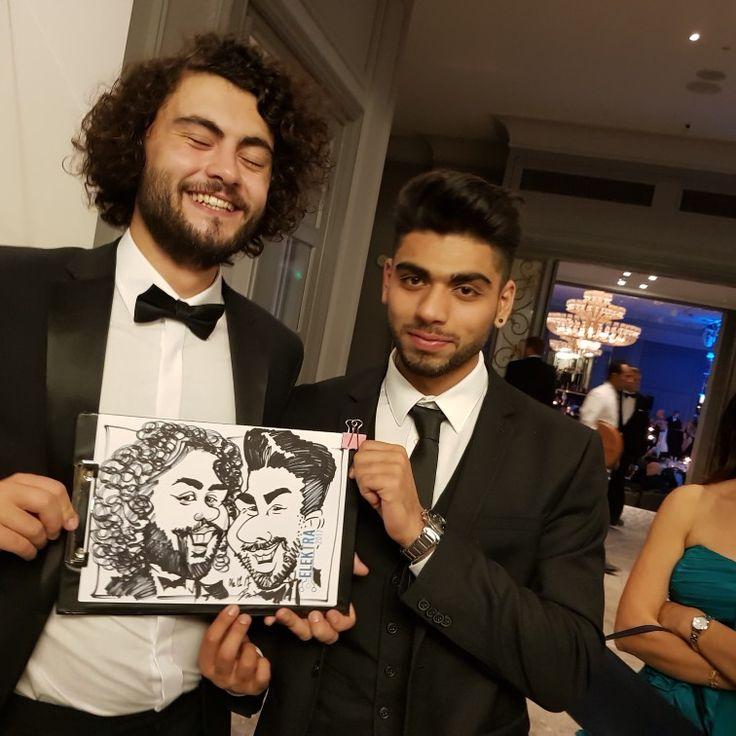 Award caricature artist