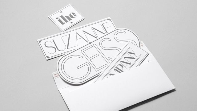 for Suzanne Geiss Company... nice.: Graphic Design, Paper Craft, Print Design, Fashion Graphics, Geiss Company, Design Jazzoo Invite, Identity Design, Suzanne Geiss, Artist