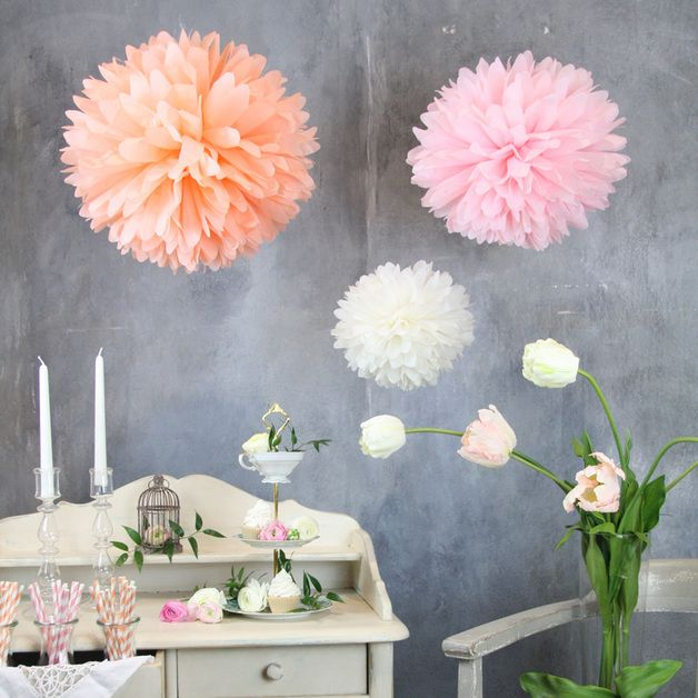 pompom set m sorbet mix pompoms sie ist und manufaktur. Black Bedroom Furniture Sets. Home Design Ideas