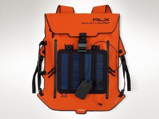 RALPH LAUREN SOLAR-POWERED BACKPACK WILL CHARGE YOUR IPHONE