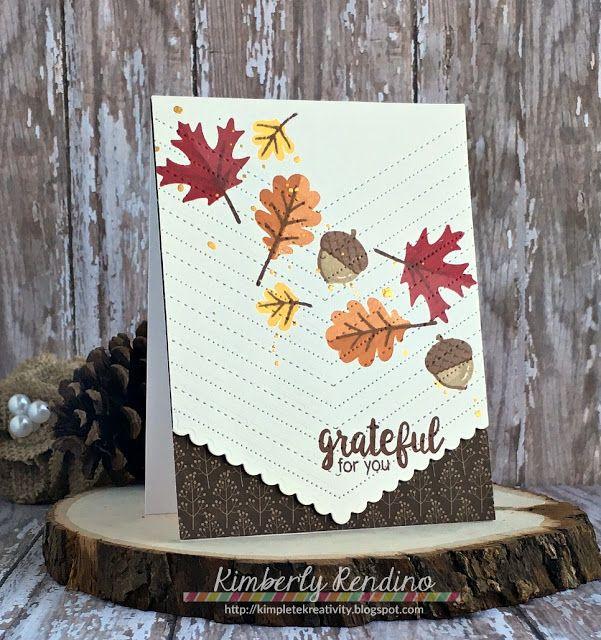 Сделать осенние открытки