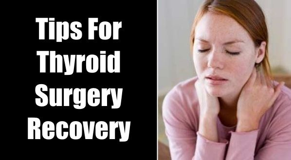 thyroid surgery recovery