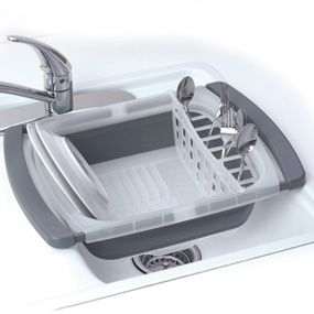 Shop Progressive International Collapsible Over Sink Dish Drainer at CHEFS.
