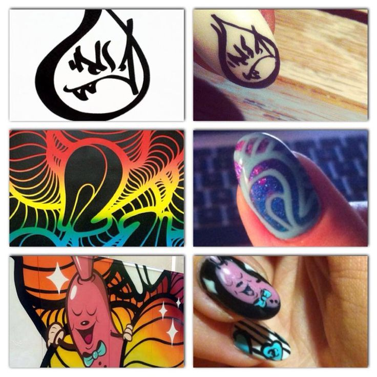 Insa inspired nailart #nails #nailspiration #nailporn #nailswag #nailart #nails #nailsart #nailedit #nail #manicure #mani #insa #insaland #insaart