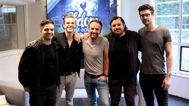 Wow! Vanochtend speelde The Boxer Rebellion live bij NPO Radio 2 en dat was zo mooi!