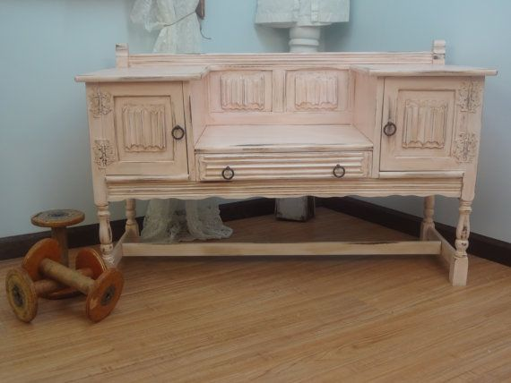Rustic Victorian Shabby Chic Bench
